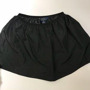 Polo Ralph Lauren girls black skirt size 8 NWOT
